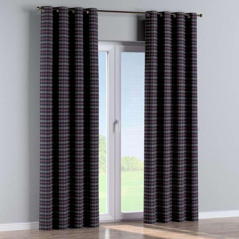 Gardin med öljetter 1 längd i kollektionen Bristol, Tyg: 142-68