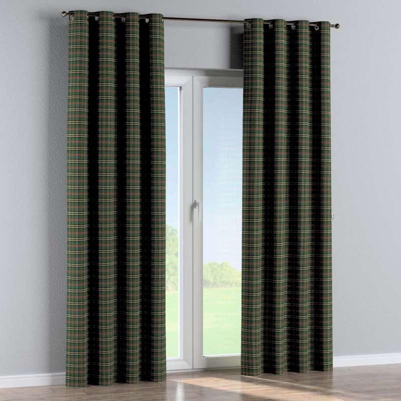 Gardin med öljetter 1 längd i kollektionen Bristol, Tyg: 142-69
