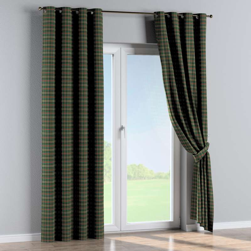 Eyelet curtain in collection Bristol, fabric: 142-69