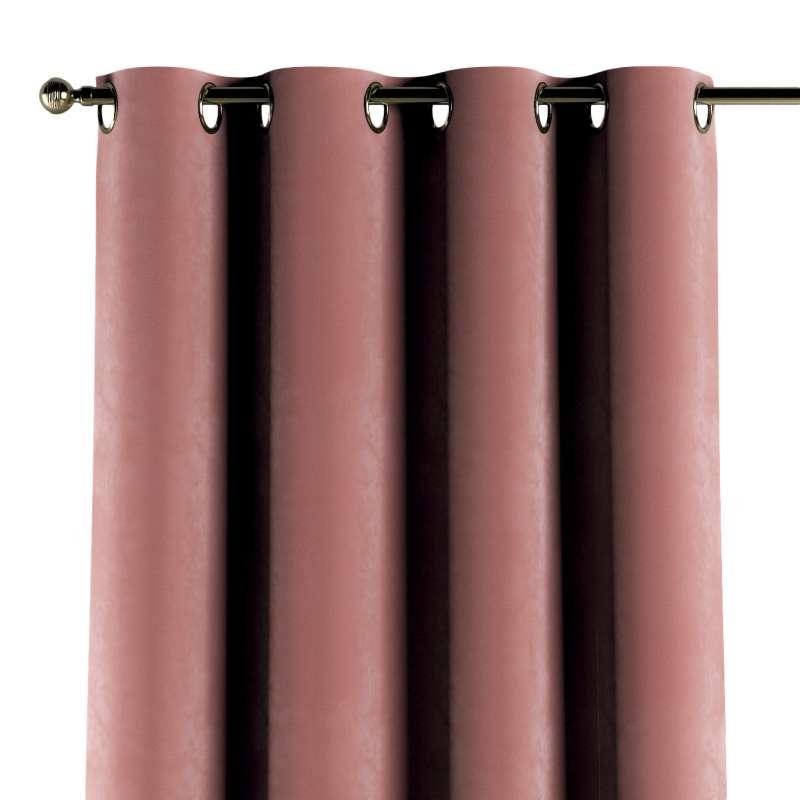 Gardin med maljer 1 stk. fra kolleksjonen Velvet, Stoffets bredde: 704-30