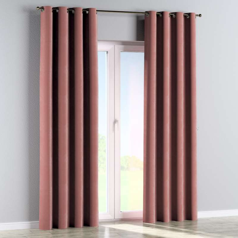 Eyelet curtain in collection Velvet, fabric: 704-30