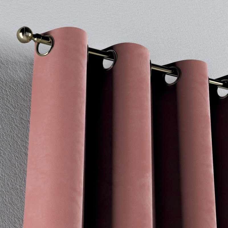 Gardin med øskner 1 stk. fra kollektionen Velvet, Stof: 704-30
