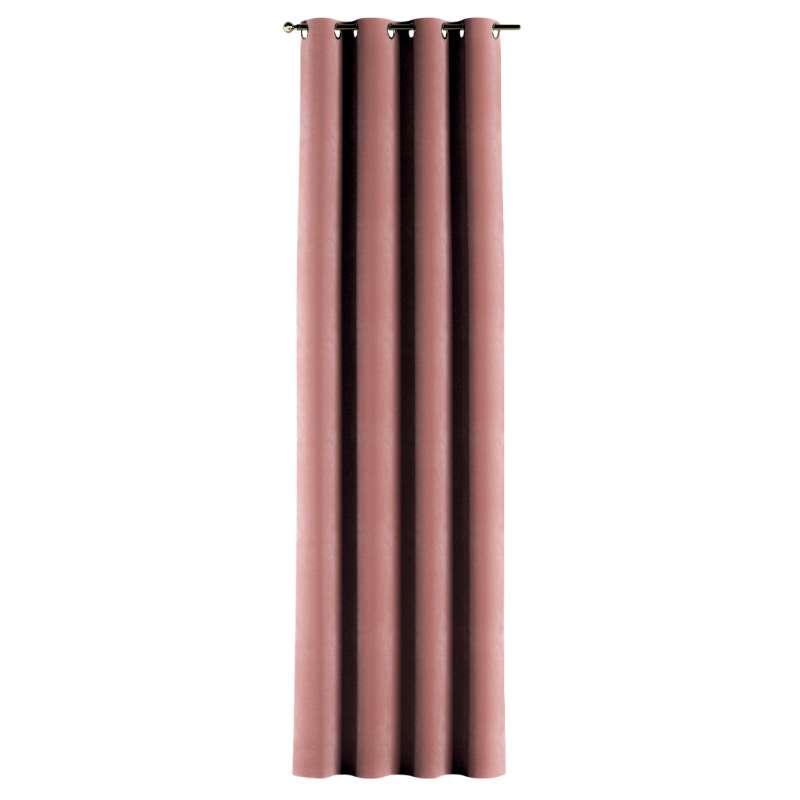 Gardin med öljetter 1 längd i kollektionen Velvet, Tyg: 704-30