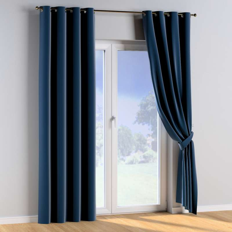 Eyelet curtains in collection Posh Velvet, fabric: 704-29
