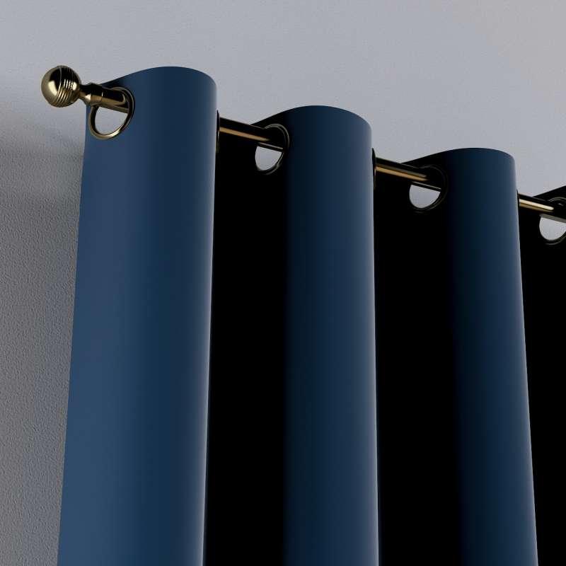 Žiedinio klostavimo užuolaidos 1 vnt. kolekcijoje Posh Velvet, audinys: 704-29