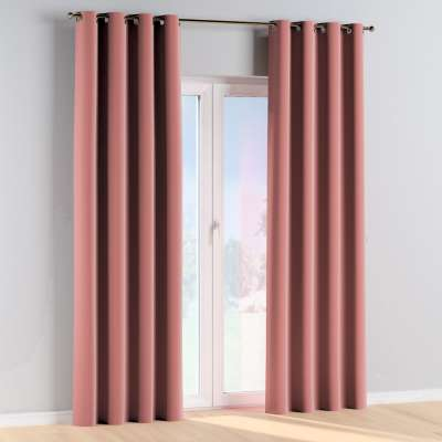 Eyelet curtains 704-30 coral Collection Posh Velvet