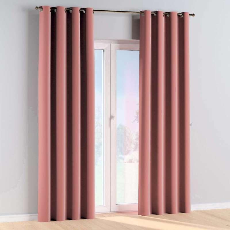 Žiedinio klostavimo užuolaidos 1 vnt. kolekcijoje Posh Velvet, audinys: 704-30