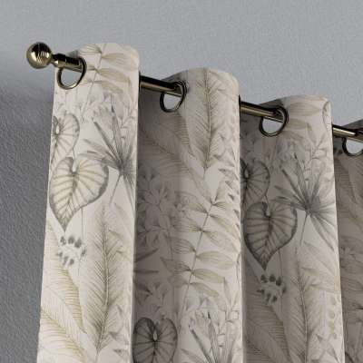Eyelet curtains in collection Nordic, fabric: 142-93