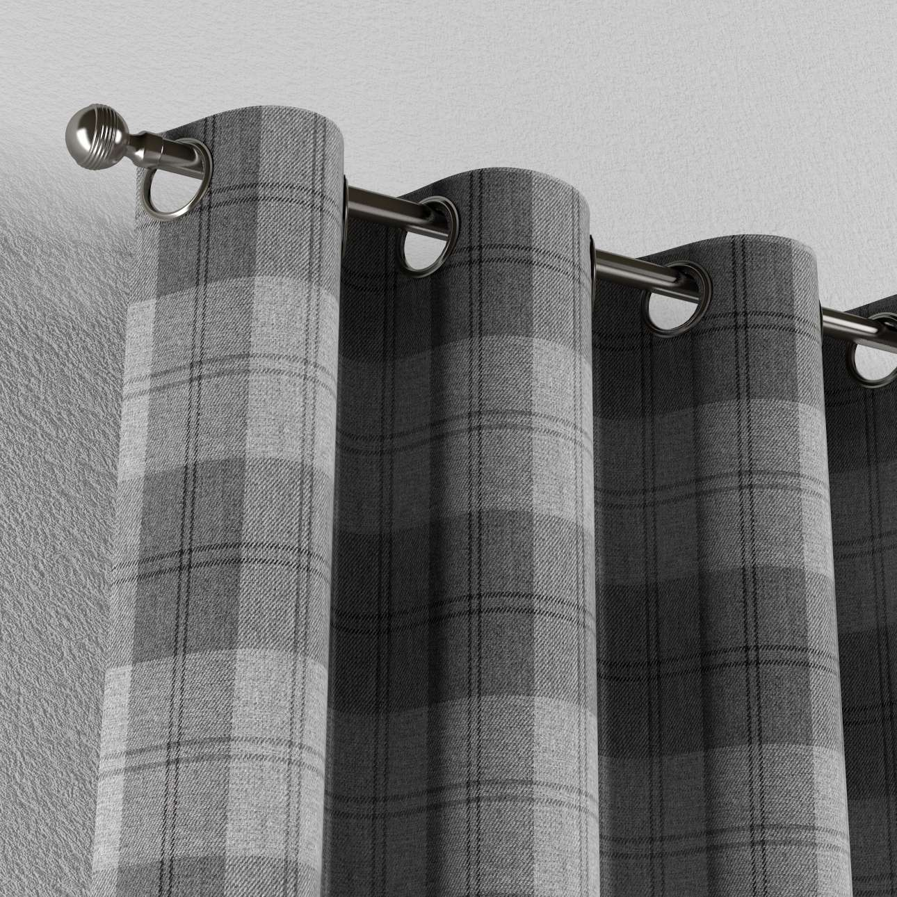 Zasłona na kółkach 1 szt. w kolekcji Edinburgh, tkanina: 115-75
