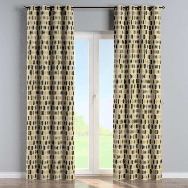 Eyelet curtain in collection Modern, fabric: 142-99