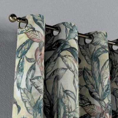 Zasłona na kółkach 1 szt. w kolekcji Abigail, tkanina: 143-08