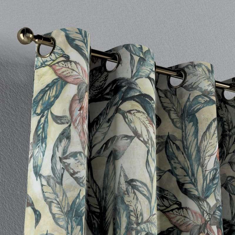 Záves s kolieskami V kolekcii Abigail, tkanina: 143-08