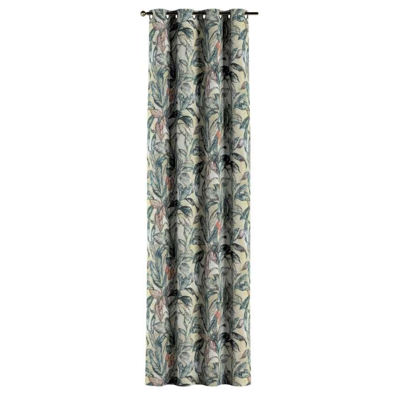 Gardin med öljetter 1 längd i kollektionen Abigail, Tyg: 143-08