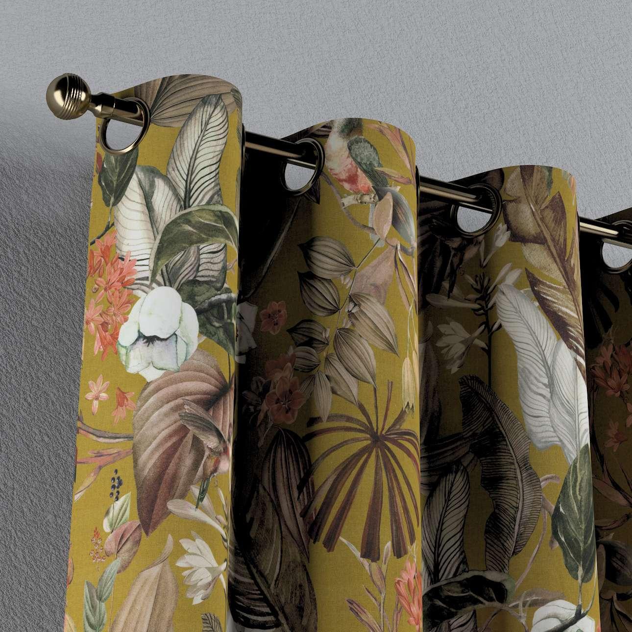 Zasłona na kółkach 1 szt. w kolekcji Abigail, tkanina: 143-09