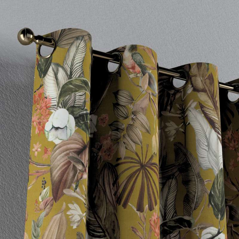 Záves s kolieskami V kolekcii Abigail, tkanina: 143-09