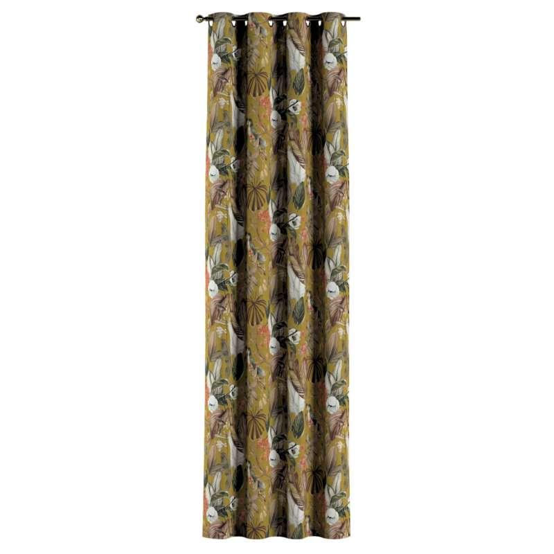 Gardin med öljetter 1 längd i kollektionen Abigail, Tyg: 143-09