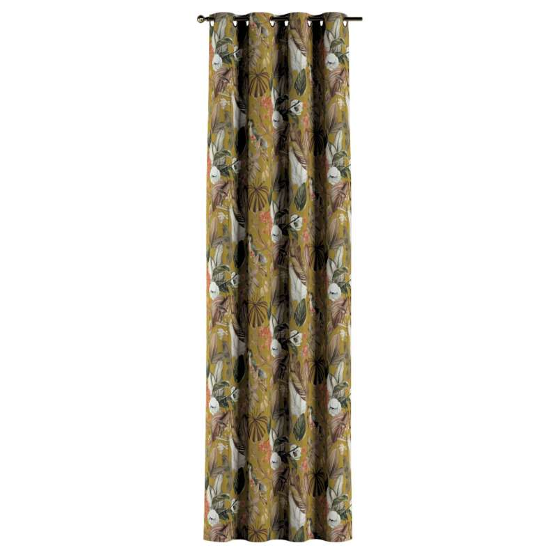 Ringlis függöny a kollekcióból Abigail, Dekoranyag: 143-09