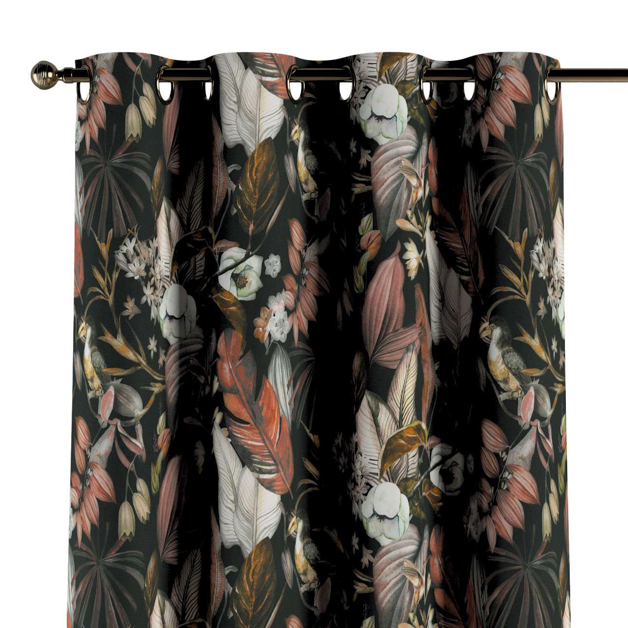 Eyelet curtains in collection Abigail, fabric: 143-10