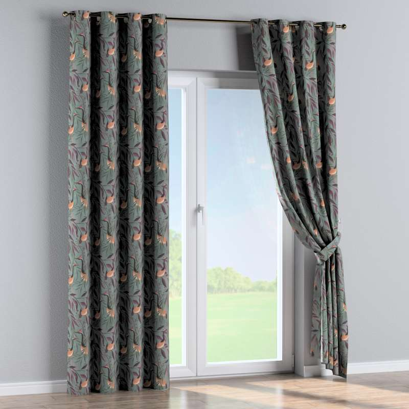 Eyelet curtain in collection Abigail, fabric: 143-11