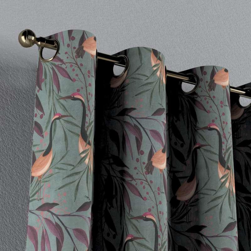 Záves s kolieskami V kolekcii Abigail, tkanina: 143-11