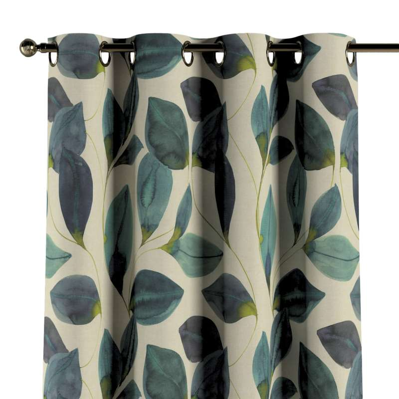 Eyelet curtain in collection Abigail, fabric: 143-15