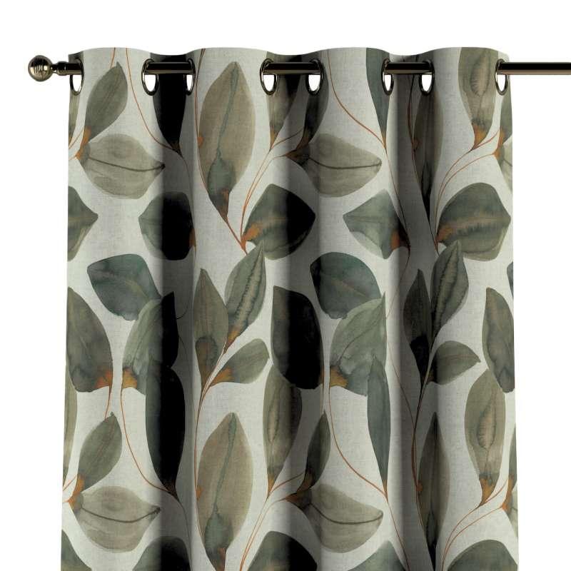 Ringlis függöny a kollekcióból Abigail, Dekoranyag: 143-17