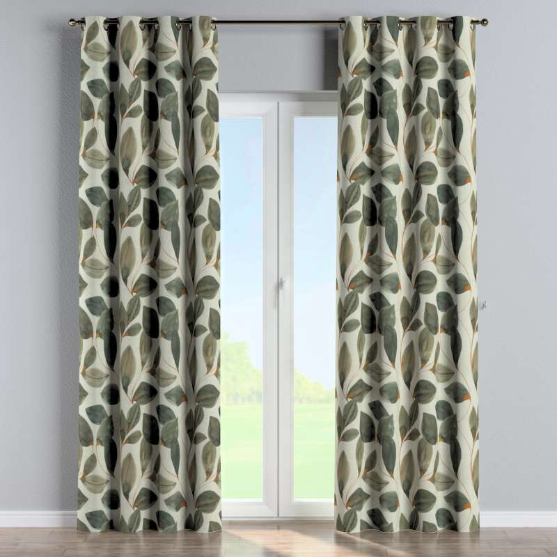 Eyelet curtain in collection Abigail, fabric: 143-17