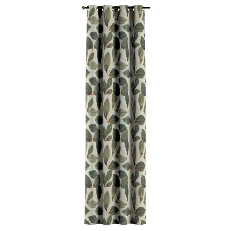 Zasłona na kółkach 1 szt. w kolekcji Abigail, tkanina: 143-17