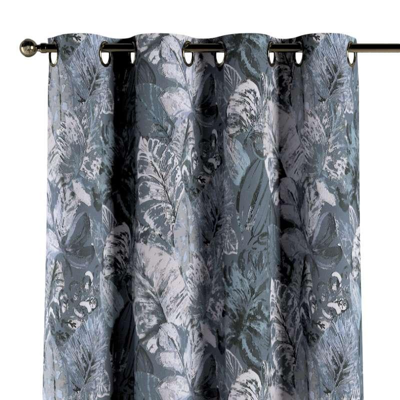 Ringlis függöny a kollekcióból Abigail, Dekoranyag: 143-18