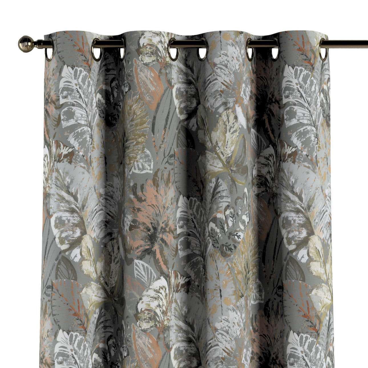 Gardin med maljer 1 stk. fra kolleksjonen Abigail, Stoffets bredde: 143-19