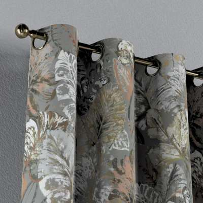 Zasłona na kółkach 1 szt. w kolekcji Abigail, tkanina: 143-19