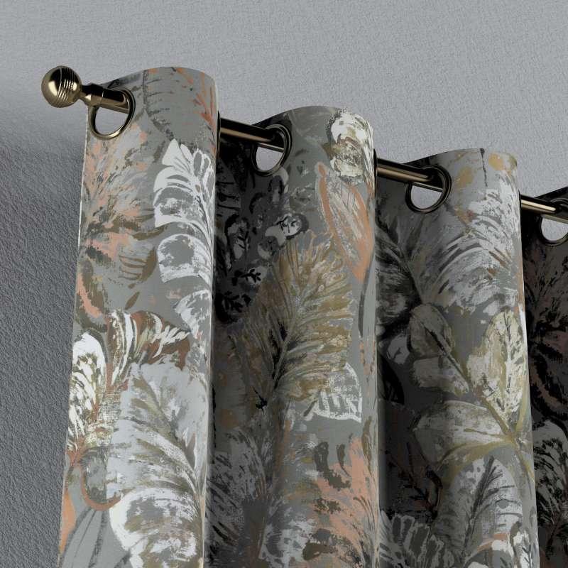 Ringlis függöny a kollekcióból Abigail, Dekoranyag: 143-19