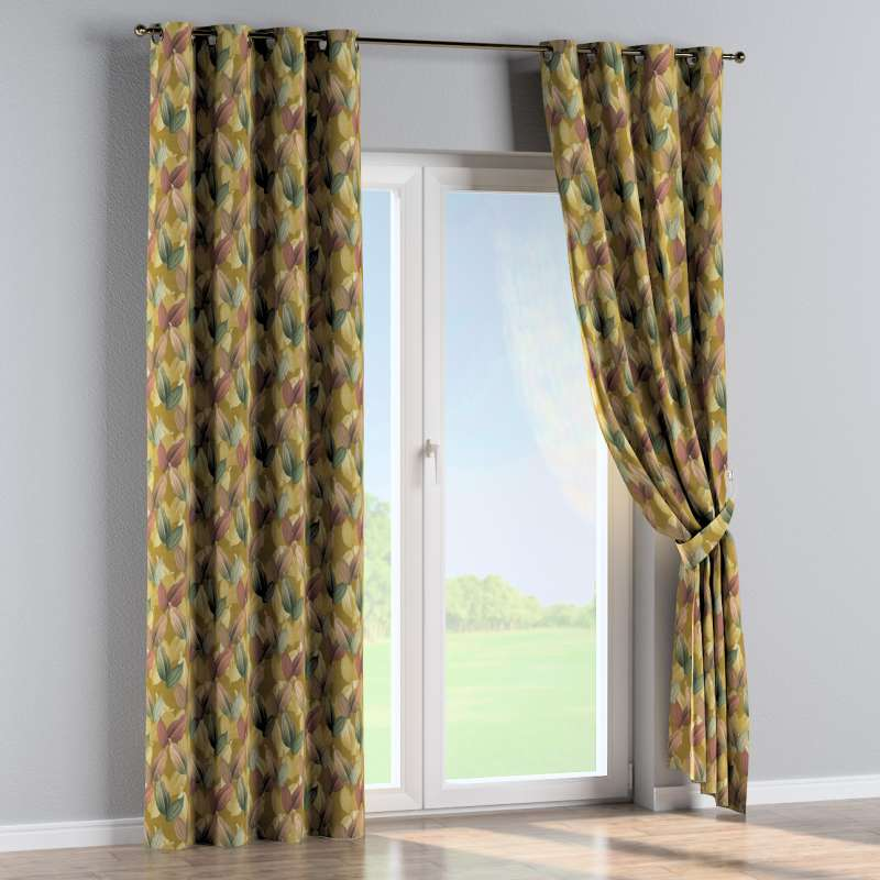 Eyelet curtain in collection Abigail, fabric: 143-22