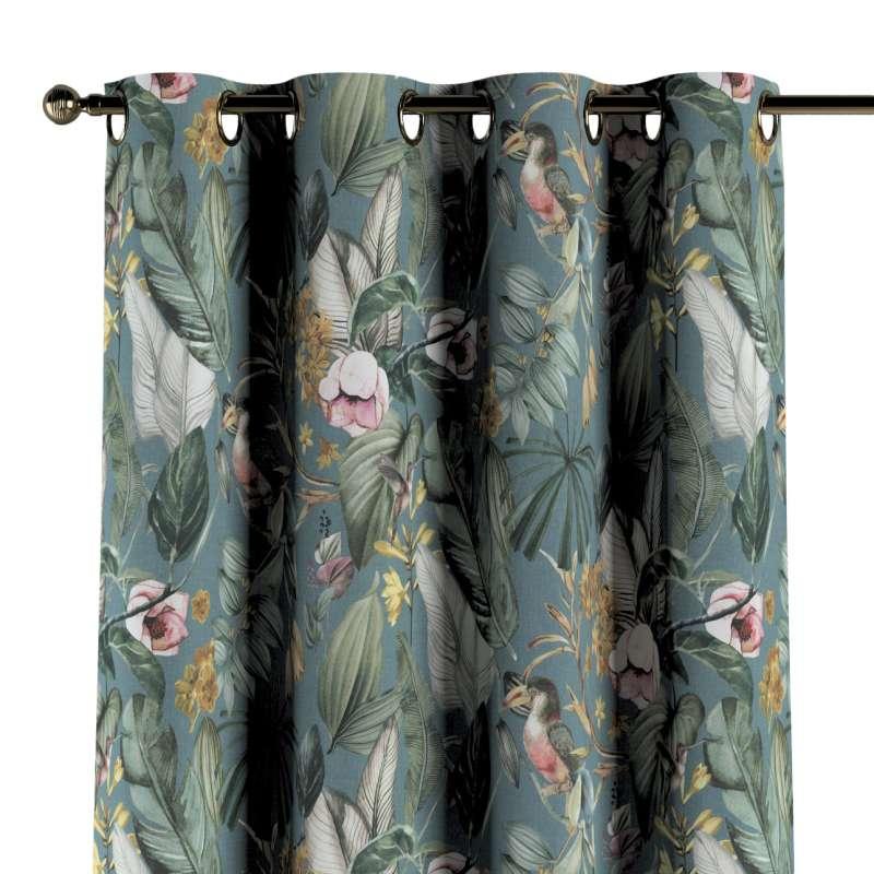 Ringlis függöny a kollekcióból Abigail, Dekoranyag: 143-24