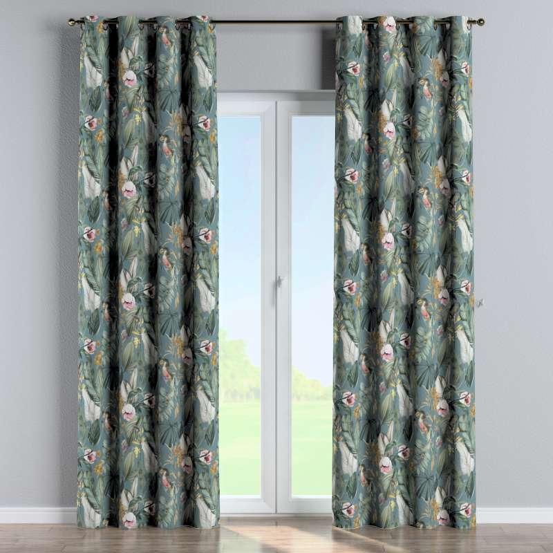 Eyelet curtain in collection Abigail, fabric: 143-24