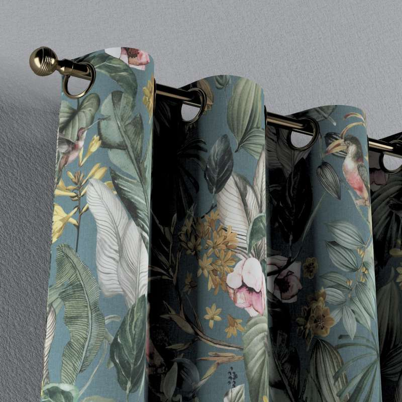 Záves s kolieskami V kolekcii Abigail, tkanina: 143-24