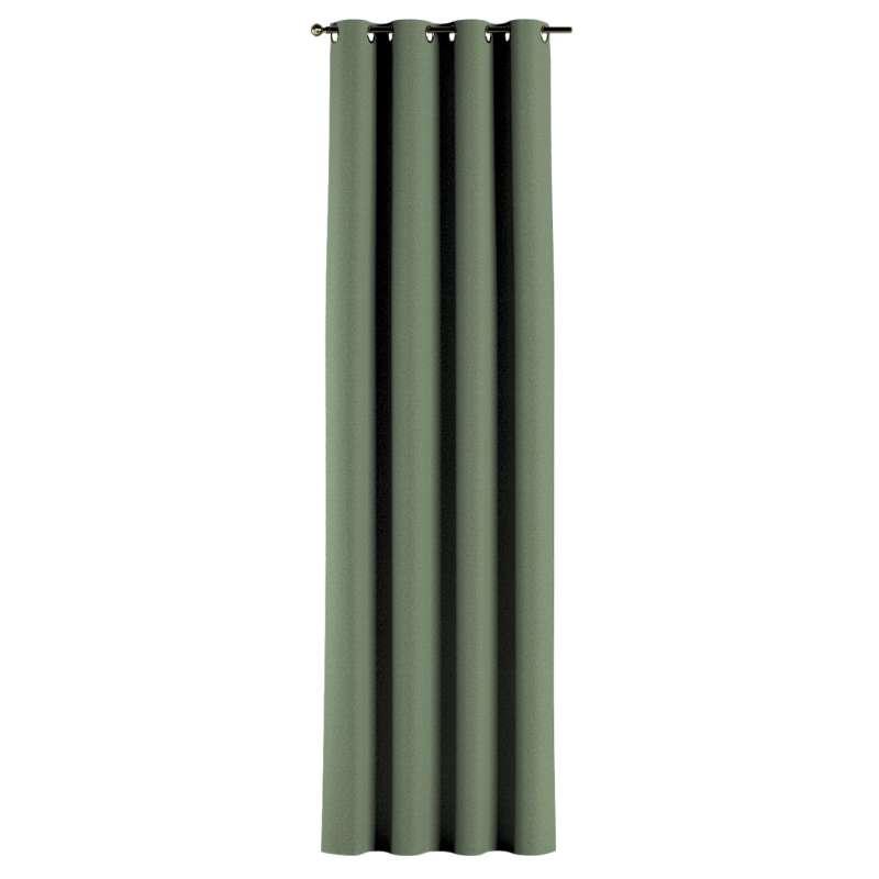 Gardin med öljetter 1 längd i kollektionen Amsterdam, Tyg: 704-44