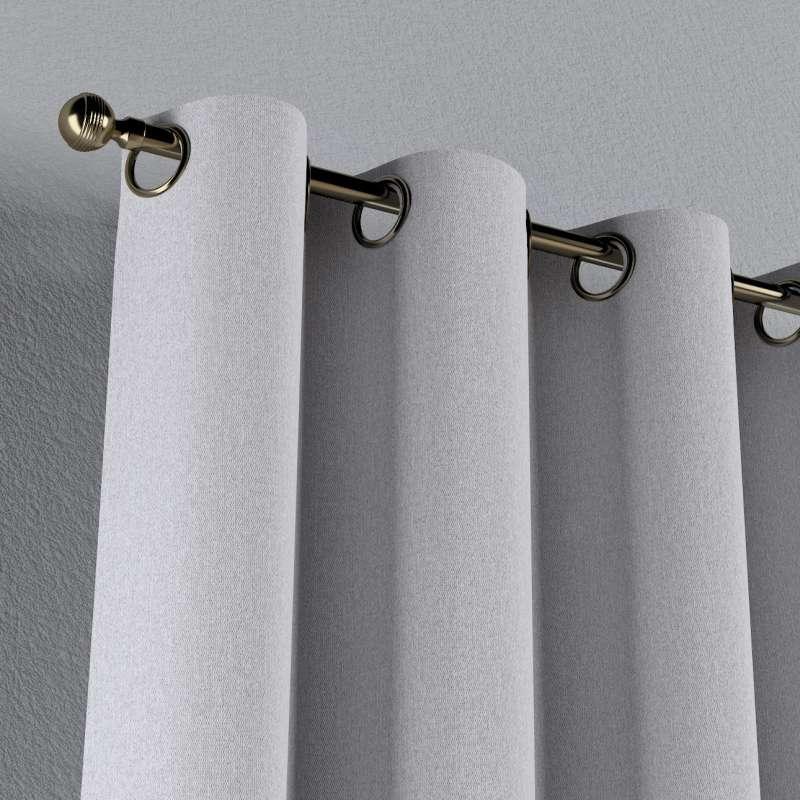 Gardin med öljetter 1 längd i kollektionen Amsterdam, Tyg: 704-45