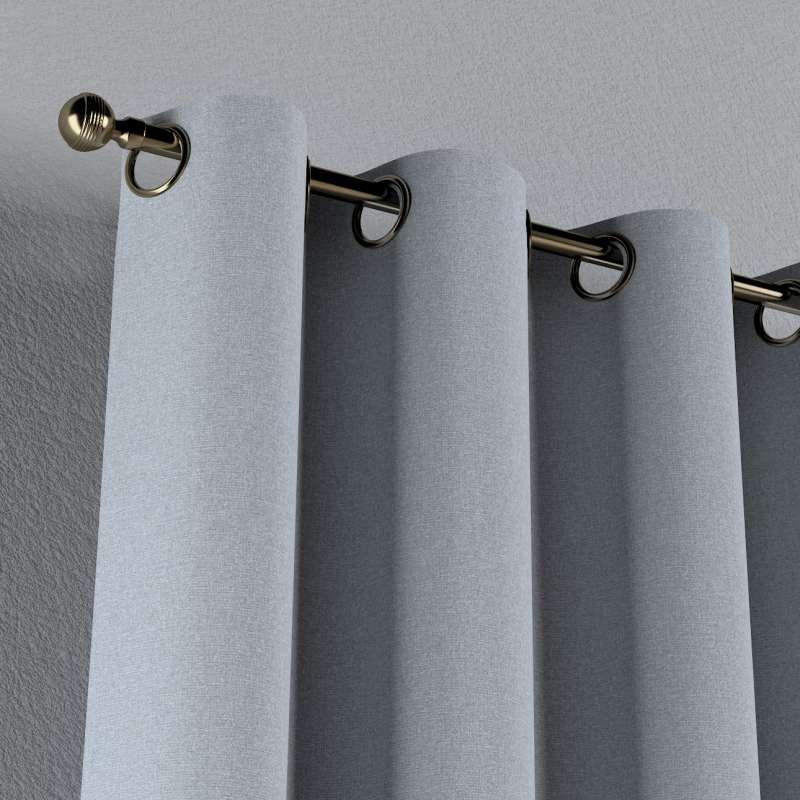 Gardin med öljetter 1 längd i kollektionen Amsterdam, Tyg: 704-46