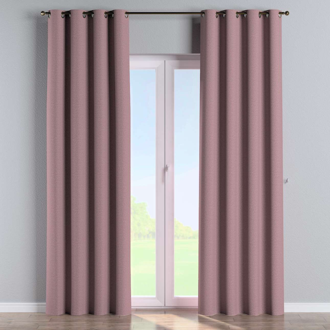 Eyelet curtains in collection Amsterdam, fabric: 704-48