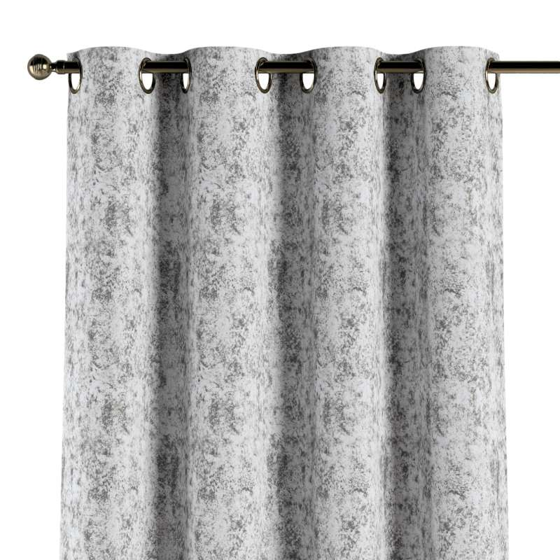 Eyelet curtain in collection Velvet, fabric: 704-49