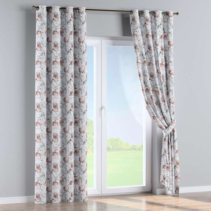 Eyelet curtain in collection Velvet, fabric: 704-50