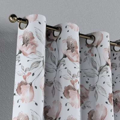 Zasłona na kółkach 1 szt. w kolekcji Velvet, tkanina: 704-50
