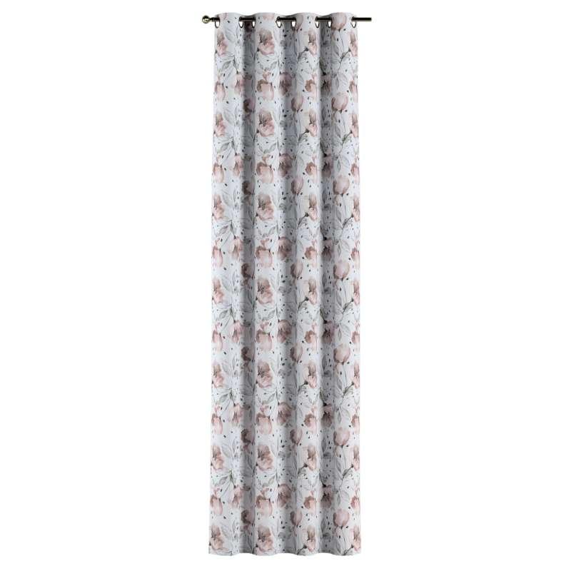 Gardin med öljetter 1 längd i kollektionen Velvet, Tyg: 704-50