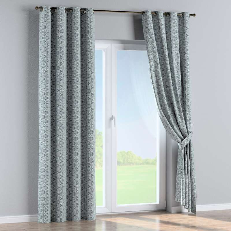 Eyelet curtain in collection Comics/Geometrical, fabric: 143-23