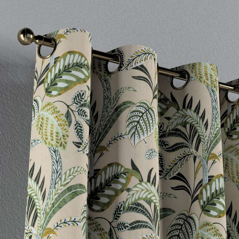 Eyelet curtain in collection Tropical Island, fabric: 142-96