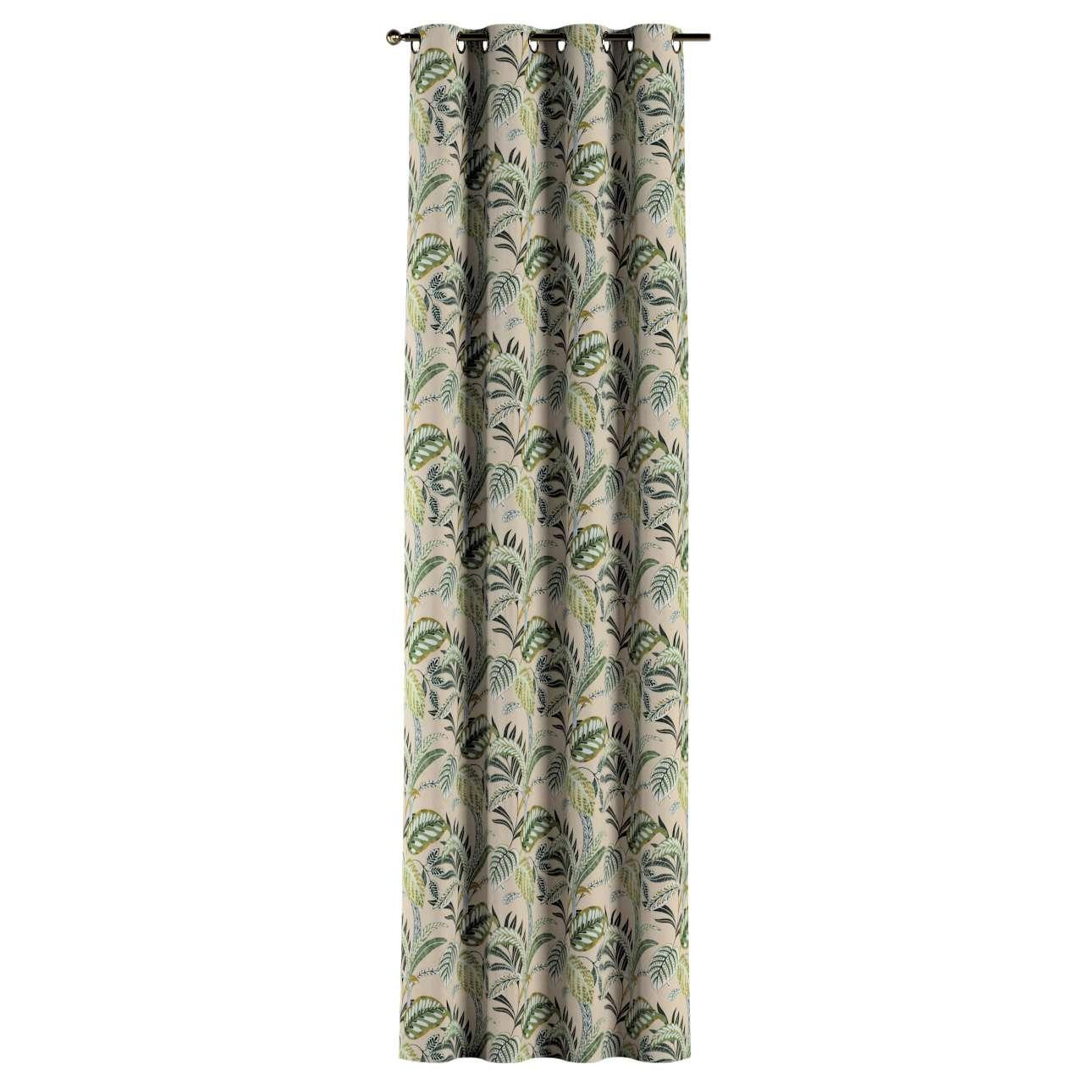 Záves s kolieskami V kolekcii Tropical Island, tkanina: 142-96