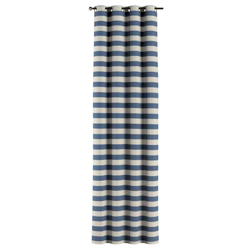 Gardin med öljetter 1 längd i kollektionen Quadro II, Tyg: 142-70