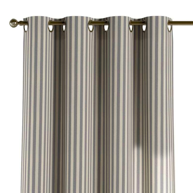 Gardin med øskner 1 stk. fra kollektionen Quadro II, Stof: 136-02