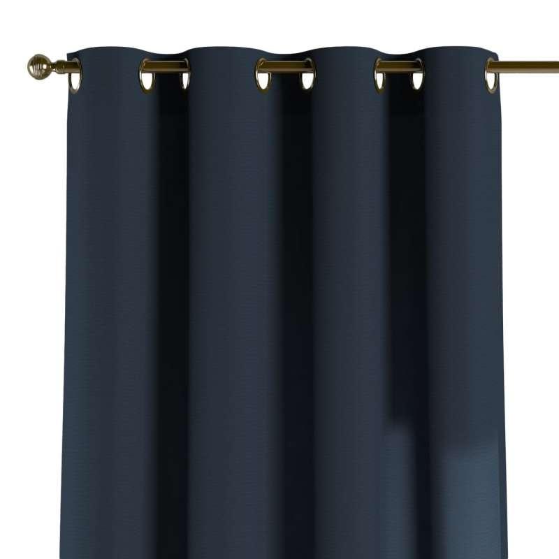 Gardin med øskner 1 stk. fra kollektionen Quadro II, Stof: 136-04